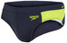 speedo Endurance+ Logo Graphic Splice 7cm Brief Men oxid grey/lime punch